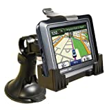 3-in-1 GPS Car Mount for the Garmin Nuvi- 3-Way Adjustable Angle for Optimal View – Includes Window Suction Mount, Dashboard Mount and Vent Clips image
