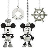 Disney Steamboat Willie Mini Ornaments Box Set