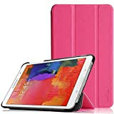 Tab Pro 8.4 Case - Pellem Ultra Slim Lightweight SmartCover Stand Case for SM-T320 / T321 / T325 Samsung Galaxy Tab Pro 8.4 Inchs Tablet(With Smart Cover Auto Wake/Sleep), Magenta