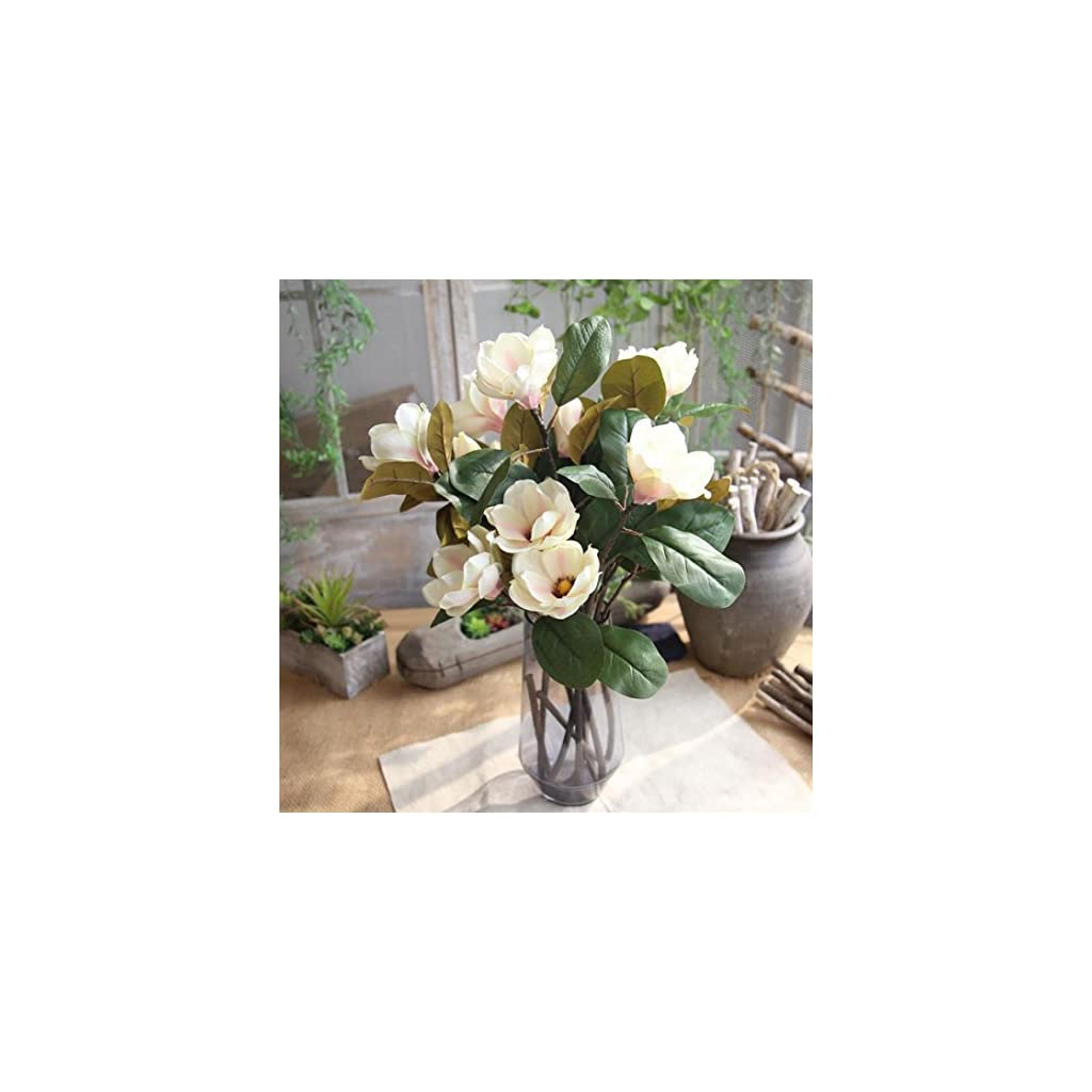 Artificial-FlowersVibola-long-branch-Magnolia-flower-with-Leaf-3-Heads-Simulation-Holding-Flowers-Bouquet-for-Indoor-Outdoor-party-office-Decor-not-include-Vase