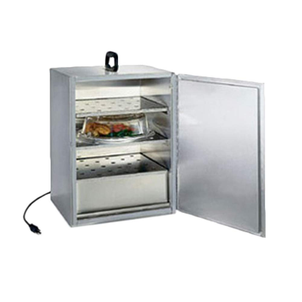 Lakeside 11310 Food Carrier Box for Room Service Table, with Three Removable Perforated Shelves, Electrical Element