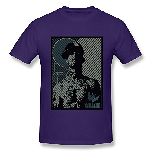 Travis Stick Barker (Men's Travis Barker Poster Short-sleeve.)