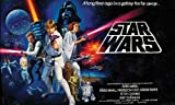 RoomMates JL1217M Star Wars Classic Prepasted Chair Rail Wall Mural
