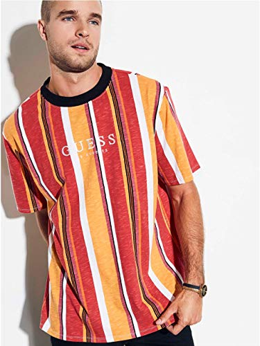 GUESS Originals Oversized Sayer Striped Tee