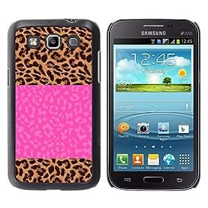 For Samsung Galaxy Win / I8550 / I8552 / Grand Quattro Case , Electric Jolt Lightning Pink Text - Diseño Patrón Teléfono Caso Cubierta Case Bumper Duro Protección Case Cover Funda