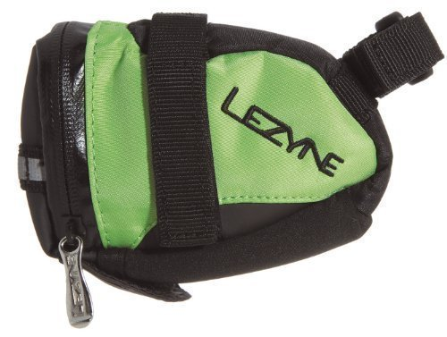 Lezyne saddle bag S-Caddy (Color: black/green) seat pack by Lezyne