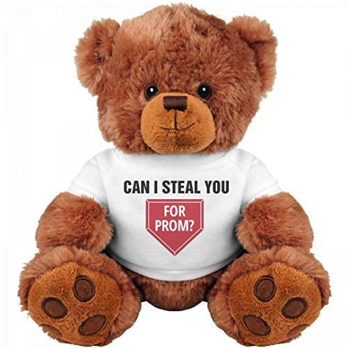 Steal Base Prom Proposal : Medium Teddy Bear Stuffed Animal Steal Bases