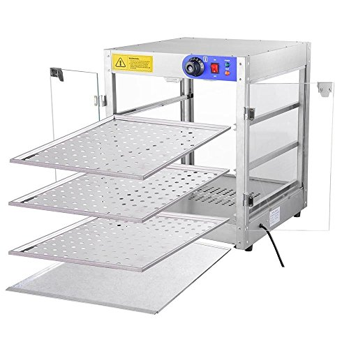 KOVAL Commercial 3 Tier Food Warmer Display Case Pizza Cabinet by KOVAL INC. (Image #3)