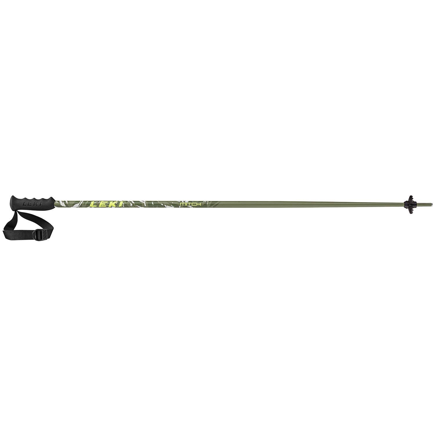 LEKI Mitch Ski Pole 80cm Military-Green