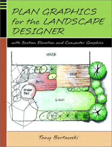 Plan Graphics for the Landscape Designer with Section-Elevation and Computer (Elevation Computer)