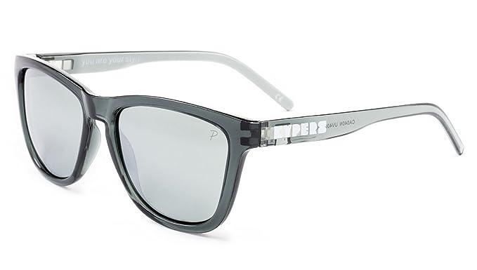 KYPERS Caipirinha Gafas de Sol, Clear Grey-Silver Mirror, 54 ...