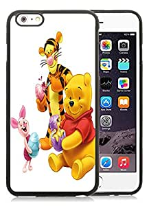 Hot Sale iPhone 6 Plus/iPhone 6S Plus Case ,Unique And Lovely Designed Winnie the Pooh Cover Case For iPhone 6 Plus/iPhone 6S Plus 5.5 Inch Black Phone Case CR-688