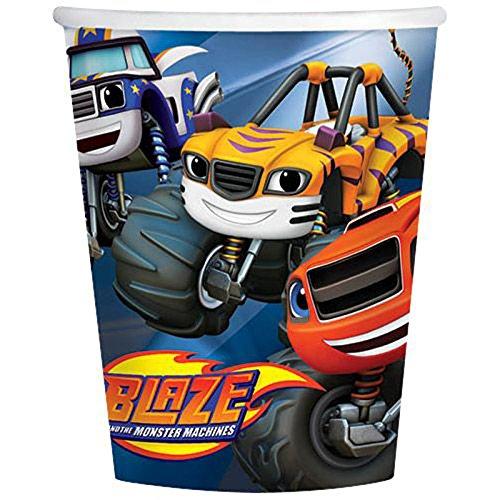 Blaze Monster Machines Cup 9oz [Contains 6 Manufacturer Retail Unit(s) Per Amazon Combined Package Sales Unit] - SKU# 581582