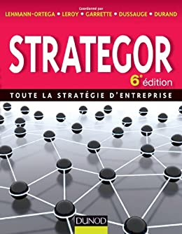 Amazon Com Strategor 6e Edition Toute La Strategie D