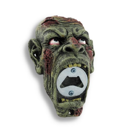 Ptc Group 5.75 Inch Zombie Hand Painted Resin Bottle Open...