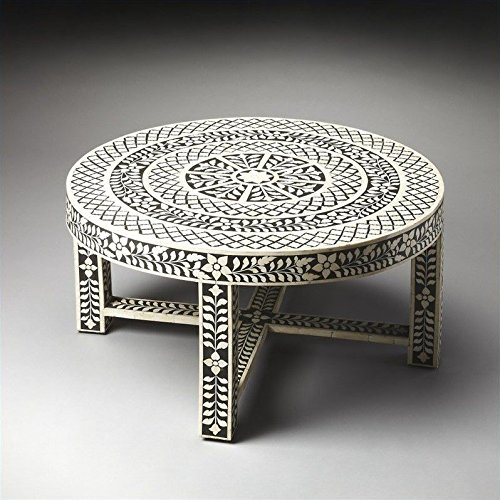 Butler Specialty Heritage Amanda Black Bone Inlay Cocktail Table - 3225070 ()
