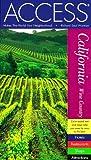 Access California Wine Country, HarperCollins Publishers Ltd. Staff and Access Press Staff, 0062772589