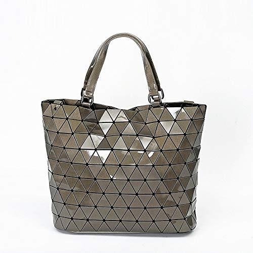 Mujer Laidaye Hombro Geométrico e Diagonal Dama Tendencia Bolsos Mujer onesize De Bolso Diamantes Láser D Geométricos wr0A7wqx