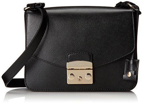 Furla Metropolis Small Shoulder Bag Onyx One Size