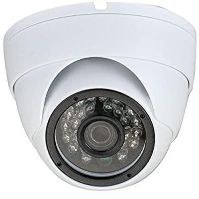 GW Security 2.1MP Sony CMOS 4-in-1 (CVI/TVI/AHD/960H 1200TVL) HD 1920 x 1080p CCTV Dome Security Camera Built-In Microphone, Audio Recording from GW Security Inc