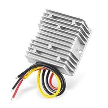uxcell® Power Converter Regulator DC 48V/60V(48V~72V) Step-Down to DC 12V 10A 120W Waterproof Voltage Convert Transformer