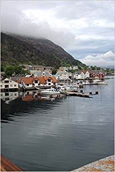 The Harbor on the Fjord in Kalvag, Norway: Blank 150 page lined journal for your thoughts, ideas, and inspiration