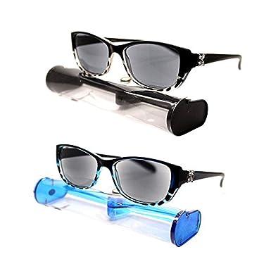 341d95430c5 ( BRSR24 Blk Blu) New Fashion Designer Women Sun Readers Sunglasses +  Reading Glasses ALL