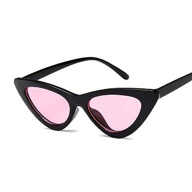 CHJKMN Gafas de sol de ojo pequeño para mujer Gafas de sol ...