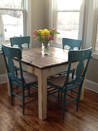 Amazon.com: COASTAL LIVING Farm House Wood Kitchen Table ...