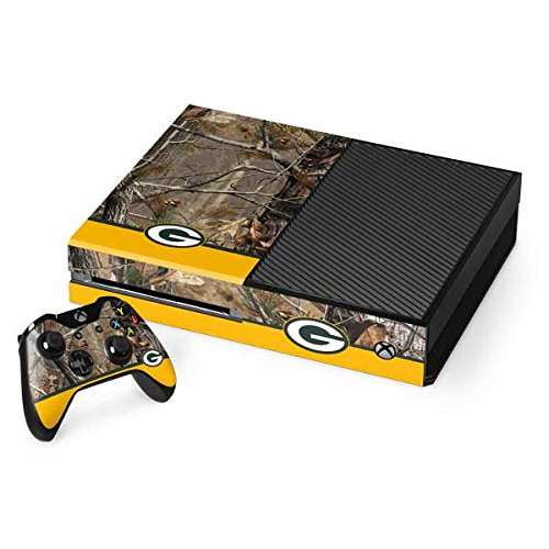 Green Bay Packers Xbox One Console and Controller Bundle Skin - Realtree Camo Green Bay Packers | NFL X Skinit Skin from Skinit