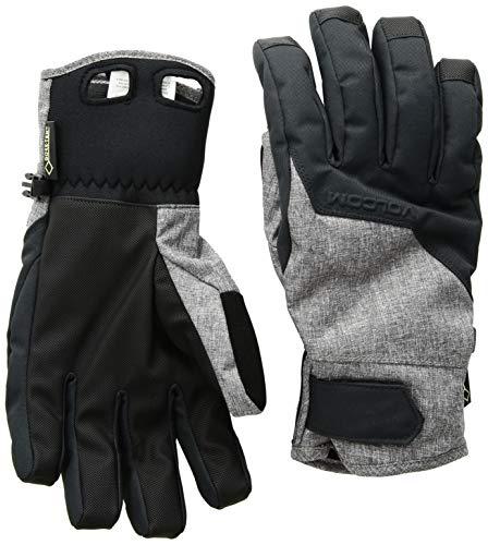 (Volcom Men's CP2 Gore-Tex Waterproof Snow Glove, Heather Grey, Extra Large)