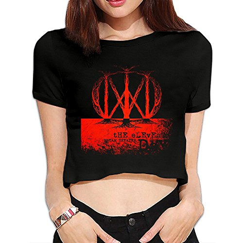 Dream Scenes Theater T-shirt (Dream Theater Short Sleeve Sport Girls T-shitr Fashion Lady)