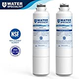 Waterspecialist DA29-00020B Refrigerator Water Filter Replacement for Samsung DA29-00020B, DA29-00020A, HAF-CIN/EXP, 46-9101, 2 Pack