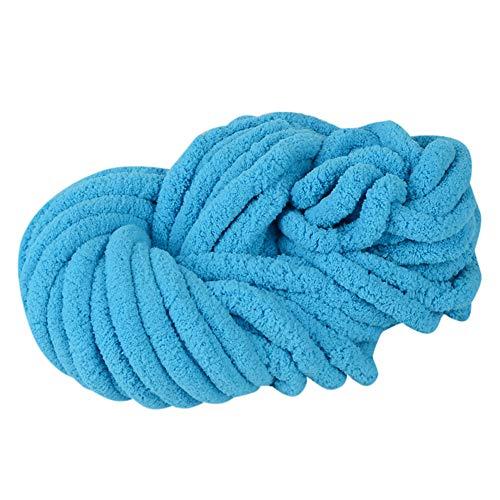 Clearance Sale ! Wool Balls Handcraft,Vanvler Worsted Super Coarse Soft Smooth Natural Silk Wool Yarn Knitting Crocheting DIY 250 G (E) -  Vanvler -Chenille yarn