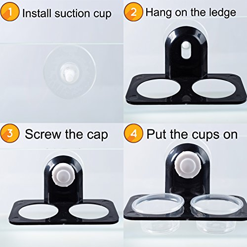 Pictures of SLSON Gecko Feeder Ledge Acrylic Suction Cup 6