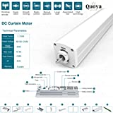 Quoya Smart Curtains System, Electric Curtain Track
