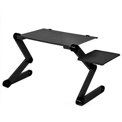 Zerone Ordenador Portatil St?NEL, Ajustable Plegable Aluminio legierungs Laptop Notebook St?NEL