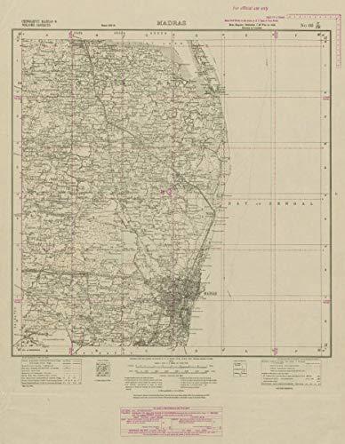 Amazon.com: Survey of India 66 C/SW Tamil Nadu Chennai ... on map of cape town south africa, map of guangzhou china, map of stockholm sweden, map of taipei taiwan, map of port elizabeth south africa, weather madras india, map of zurich switzerland, madras chennai india, map of adana turkey, photographs of madras india, map of mombasa kenya, map of xiamen china, map of malindi kenya, map of copenhagen denmark, map of bora bora tahiti, map of krakow poland, map of phuket thailand, map of jakarta indonesia, map of kuala lumpur malaysia, maps of only india,