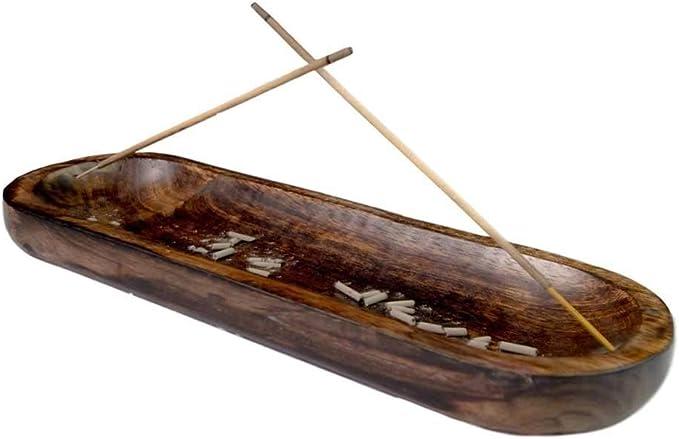 Incense burner Sea Driftwood Natural wood branch Joss stick incense holder Rustic boho style  new age room decor Incense stick holder