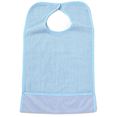 NorthShore ShirtSafe Bib, Blue Terry, Each