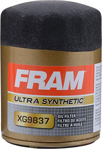 FRAM XG9837 Ultra Synthetic Spin-On Oil Filter with Sure Grip