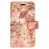 Zocardo TM Faux Leather Universal Diary Flip Cover Case with Inner Pocket for Samsung Galaxy J3 Emerge - Pink