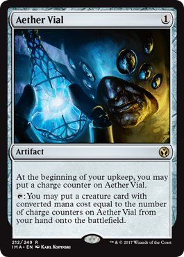 Wizards of the Coast Aether Vial - Iconic Masters ()