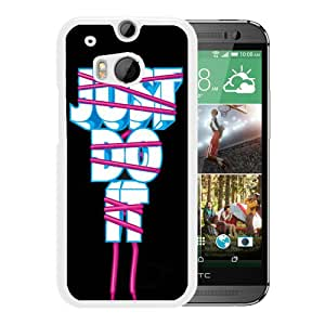 Beautiful And Unique Designed Case For HTC ONE M8 With Nike 21 White Phone Case