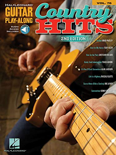 Country Hits: Guitar Play-Along Volume 76