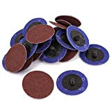 Sander 2-inch Dia 40 Grit Sandpaper Sanding Polishing Disc Wheel 40pcs