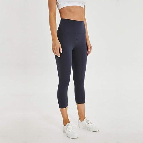 Abbigliamento sportivo WZXY Gym Yoga Leggings Women Fitness Crop Tight Pants Soft Nylon Running High Rise Sports Workout Leggins Bambine e ragazze