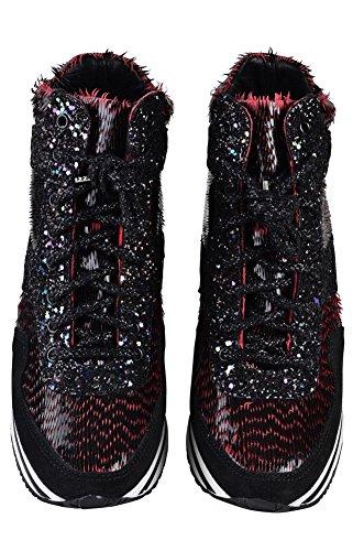41 Gold Leder Damen Sneaker Schwarz 2Star Schuhe Rosa v4O1gvn