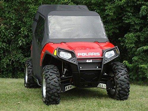 (Polaris Ranger RZR Full Cab Enclosure for Hard Windshield BLK)