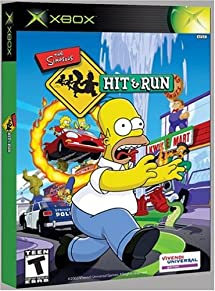 Simpsons: Hit and Run - Xbox: Artist Not Provided     - Amazon com